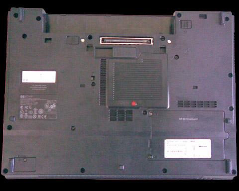 HP Compaq 6715b - Etape 1